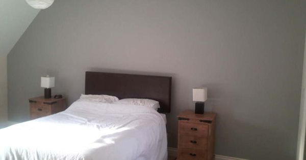 Dulux steel grey 4 matt design inspiration pinterest steel wall colors and bedrooms - Bed room color for girls ...