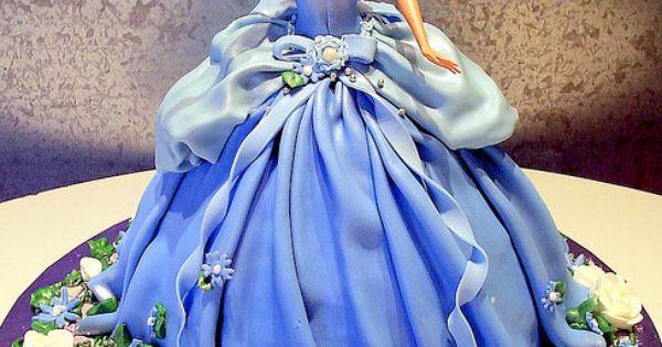 barbie cake ideas | barbie 3 d cake as barbie s dress