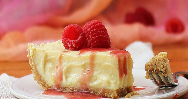 Greek Yogurt Cheesecake- The Greek yogurt in place of cream cheese cuts