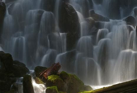 Ramona Falls, Oregon. Beautiful places around the world
