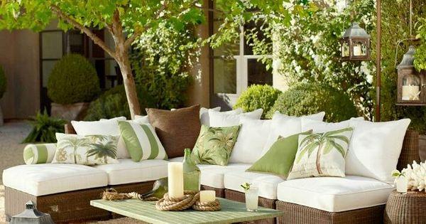 Cojines de exterior para dar un cambio a nuestros muebles - Cojines muebles exterior ...