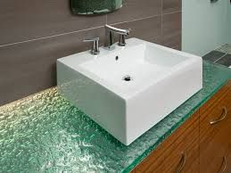 Image Result For Glass Countertops Bathroom Countertops Glass