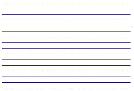 Free Printable Handwriting Paper Free Writing And