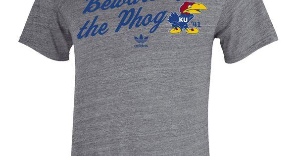 Ku jayhawks beware of the phog t shirt that vintage for Funny kansas jayhawks t shirts