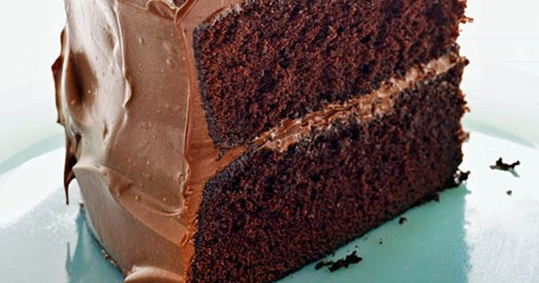 Devil S Food Cake With Milk Chocolate Frosting Recipe