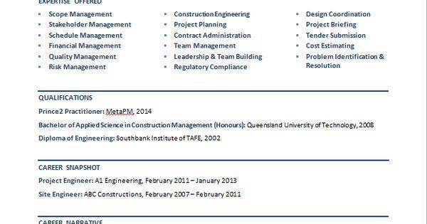 sle resume civil engineer australia civil structural