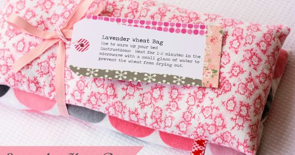 Lavender Heat Bag - A Spoonful of Sugar