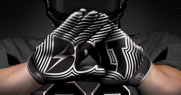 Custom Football Gloves By Bolt Athletics Sublimated