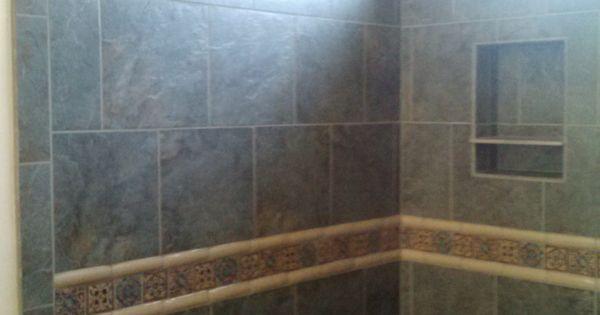 Master Shower Surround Emser Bombay Salsette Tile With