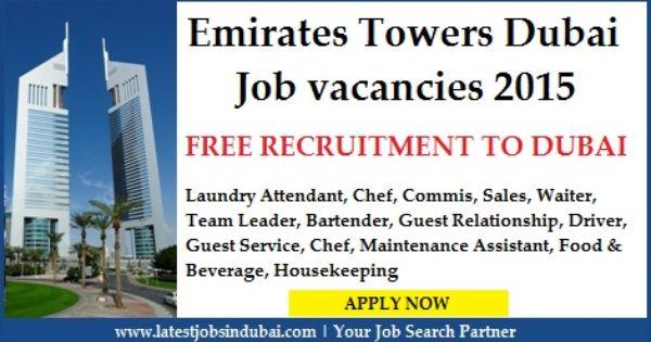 Jumeirah Emirates Towers Dubai Careers Jobs Latest Openings