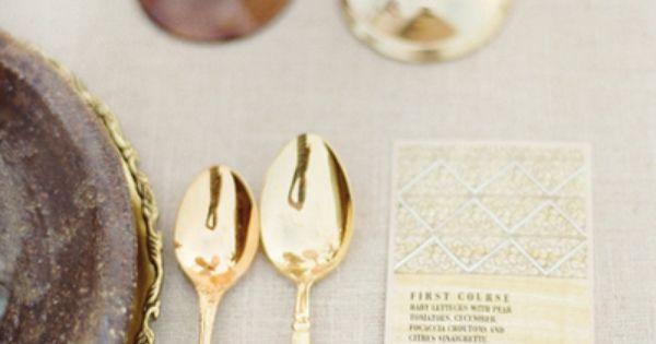 narrow menu cards for dinner parties