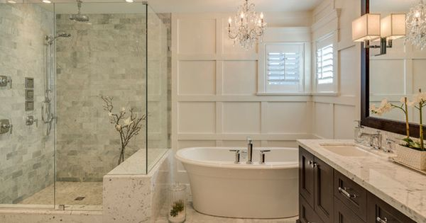 Bathroom designs traditional master bathroom floor plans for Bathroom floor covering