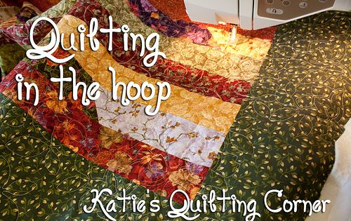 How To Quilt Using Your Embroidery Machine Machine