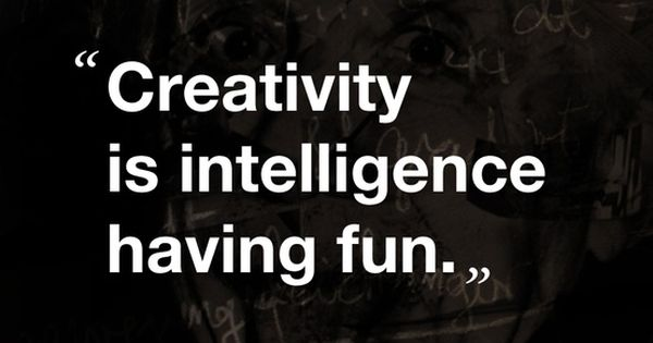 #inspiration wisdom quote einstein creativity intelligence fun