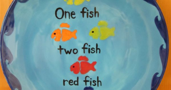 One fish two fish red fish blue fish in the classroom for Blue fish pediatrics