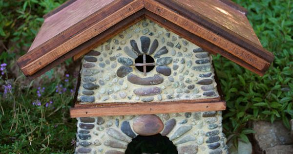 Bungalow toad house with copper roof toad house copper Make your own toad house