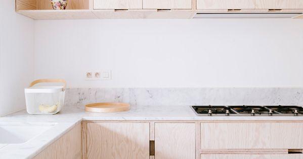 Comment cr er une cuisine belle moderne en contreplaqu for Cuisine en contreplaque