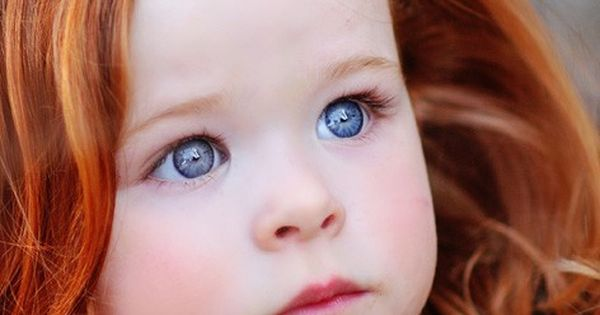 I love ginger babies! Super pretty hair color