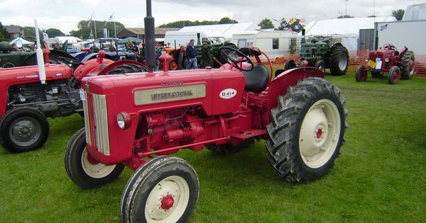 International B414 Tractors International Mahindra Tractor