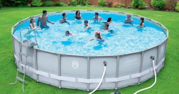 Coleman 22x52 Above Ground Swimming Pool 549