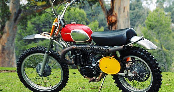 Steve McQueen's 1970 Husqvarna 400 Cross motorcycle is going under the hammer