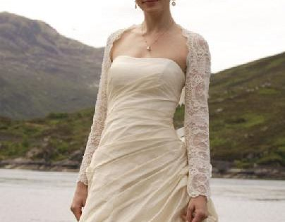 From made of honor scottish style wedding gown for Made of honor wedding dress