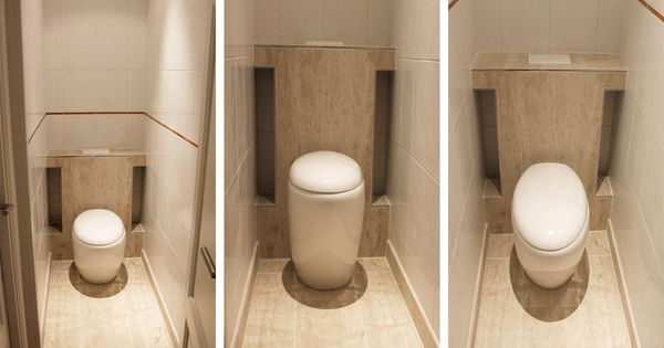 Wc suspendu toilettes en bois naturel d corer les wc pinterest toilette suspendu wc for Decorer les toilettes