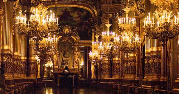 Foyer Des Arts Paris : Beautiful places le grand foyer de l opéra garnier