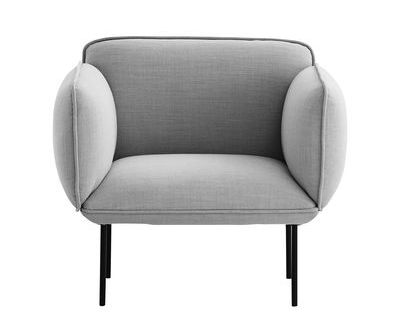 Woud Nakki Padded Armchair Grey Made In Design Uk Furniture Design Competition Beach Chair Umbrella Accent Chair Diy