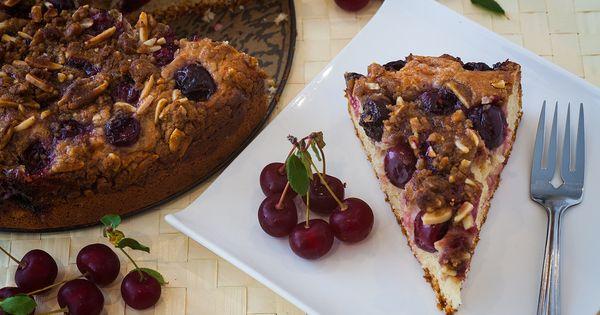 Cherry Cream Cheese Coffee Cake | Recipe | Sour Cherry, Coffee Cake ...