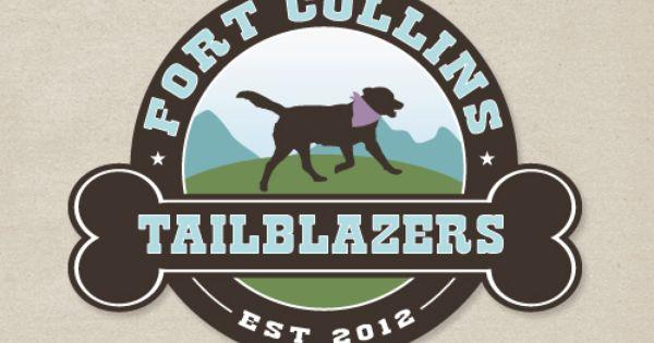 Pet Business Logo Design Tailblazers Fort Collins Co