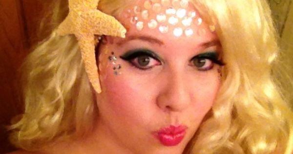Mermaid makeup idea for Bells