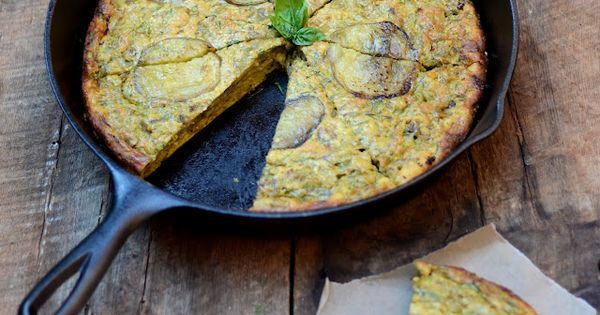 eggplant kuku | Eggplants, Persian and Egg Casserole