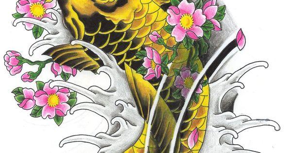 Carpe koi tattoo tatoo pinterest koi and tattoo for Dragon koi fish for sale