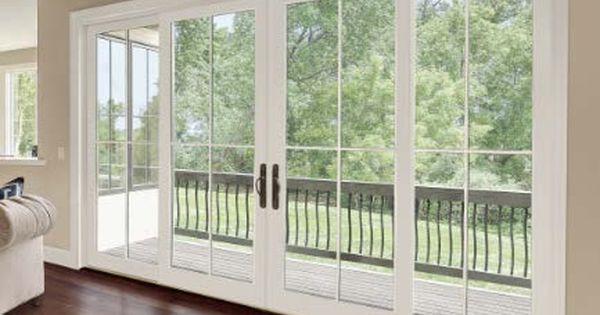 Four panel sliding glass doors 20140428 integrity wood for 4 panel sliding french doors