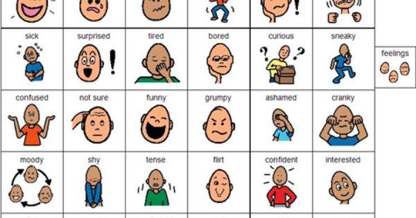 English Facial Sign Language