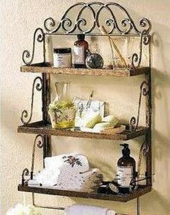 Buy Wrought Iron Wall Shelf Bathroom Towel Rack In Cheap Price On M Alibaba Com Wrought Iron Wall Decor Wrought Iron Decor Wrought Iron Furniture