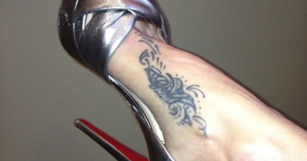Brooke Burke Foot Tattoo | tattoo | Pinterest | Foot ...
