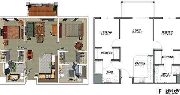 senior living floor plans 800 sq ft senior apartments in
