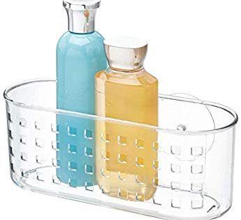 Idesign Duschablage Mit Saugnapf Kleiner Duschkorb Ohne Bohren
