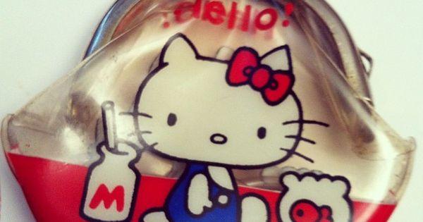 Hello Kitty original coin purse (1974)