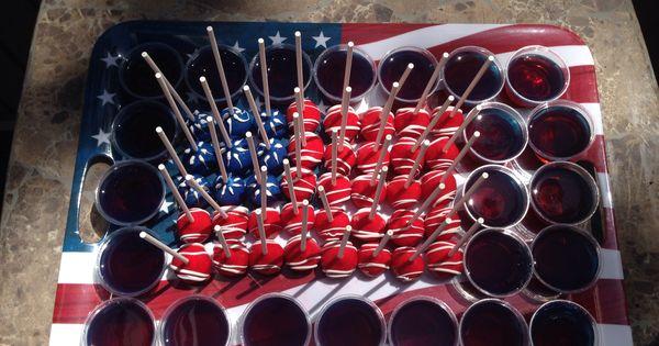 memorial day jello shots