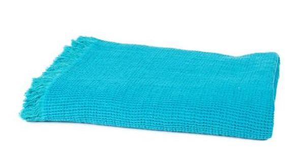 Harmony Plaid Nandji 52 Lin Et 48 Coton Stone Wash Turquoise 130 170 Home Beddings And Curtains Jete De Lit Plaid Canape En Fil D Indienne