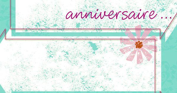 Invitation Anniversaire 18 Ans Gratuite A Imprimer