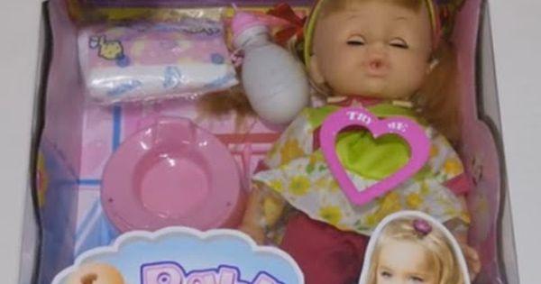 العاب الدمى لعبة العروسة البيبي مع الببرونة و الحفاضة و البوتي ال Barbie Children Pacifier