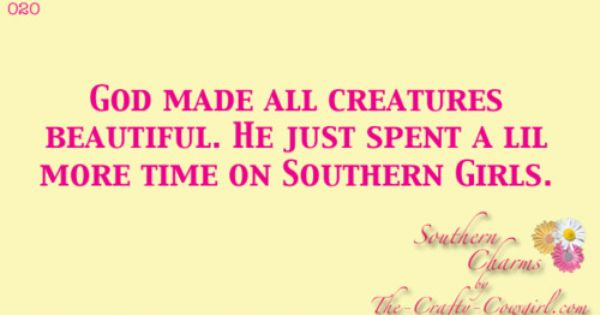 southern quotes and sayings -