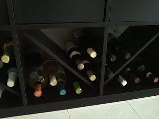 Expedit Wine Bottle Rack In 2020 Wine Bottle Rack Bottle Rack Ikea Hackers