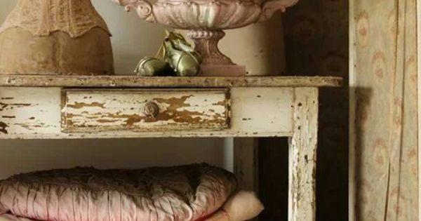 Prachtig vintage furniture brocante meubels kisten en koffers pinterest brocante - Decoratie hoofdslaapkamer ...