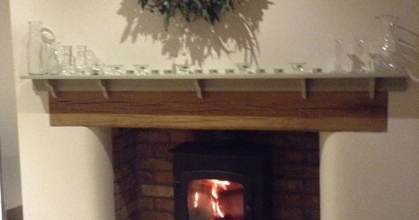 Our Inglenook Fireplace Reclaimed Belfast Brick And