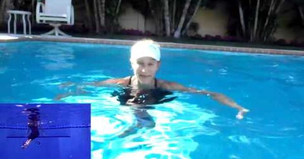 Abs Back Exercises In The Pool Youtube Liquid Workout Pinterest Exercises Aerobics
